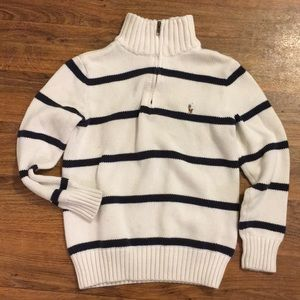 Boys Polo Ralph Lauren Stripped Knit Sweater